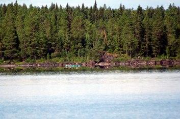 I norra Jämtland är det ont om bebyggelse och gott om skog.
